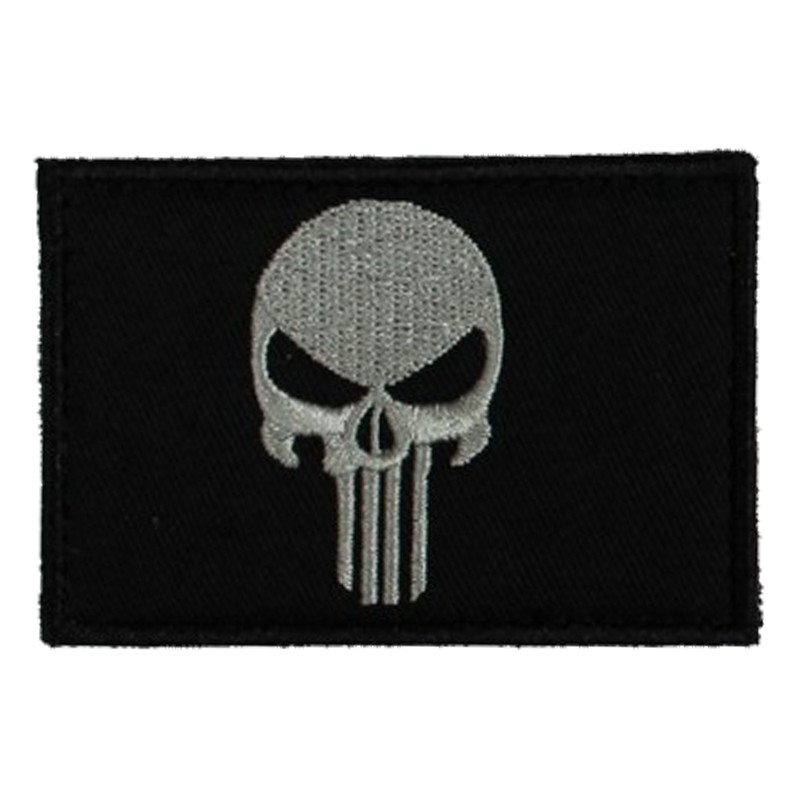 SME Velcro Patches in Skull Flag Color