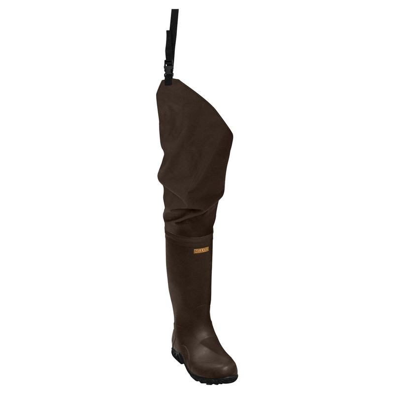 Frogg Toggs Bogg Togg 2-Ply Hip Boots in Brown Color