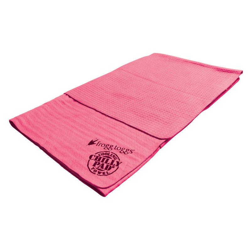 Frogg Toggs Neck Cooler Chilly Pad in Pink Color