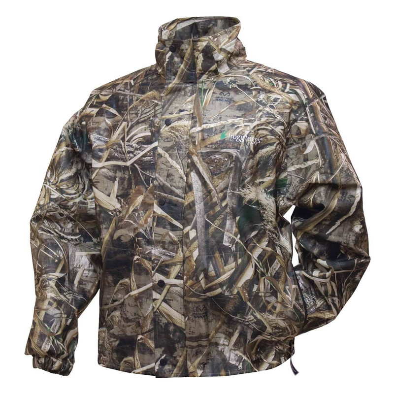 Frogg Toggs Pro Action Camo Rain Jacket in Realtree Max 5 Color