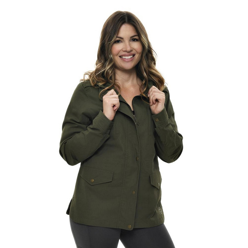 Girls With Guns Secret Sadie Jacket in Olive Color