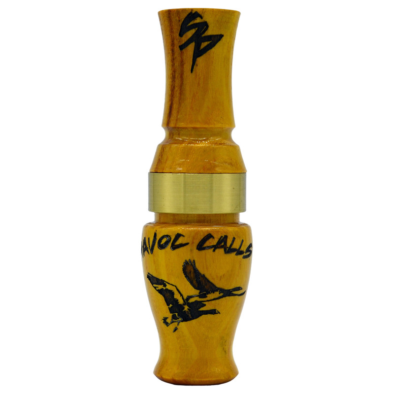 Havoc Speck Punisher Goose Call in Hedge Color