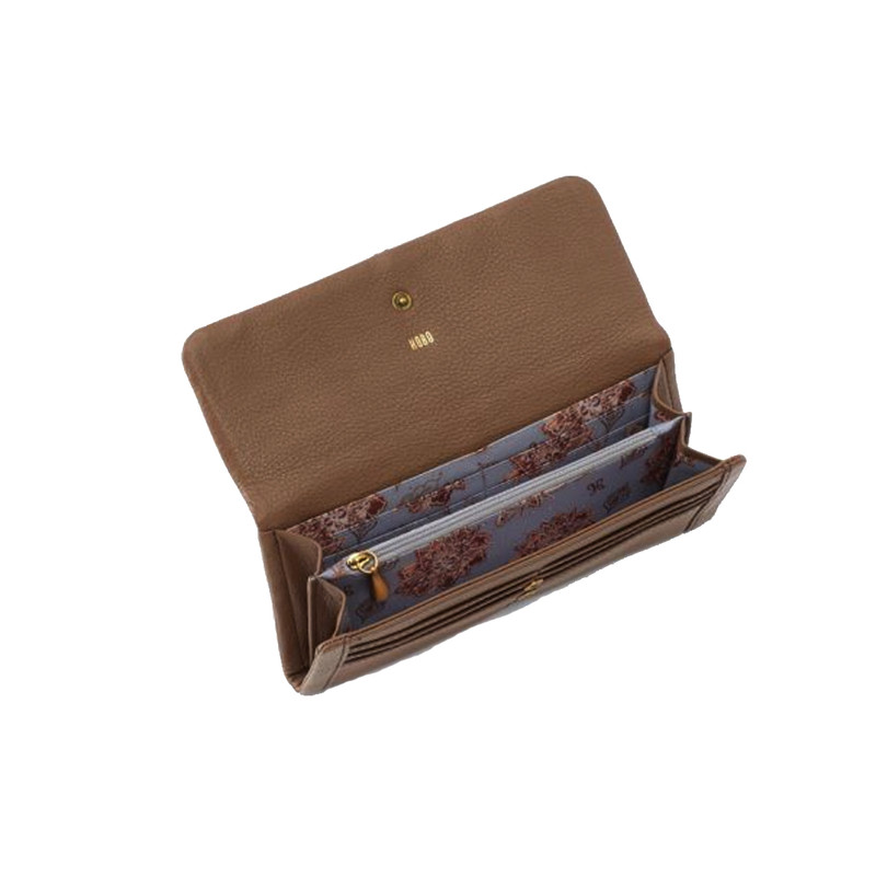 Hobo Wonder Wristlet Wallet in Graystone Color