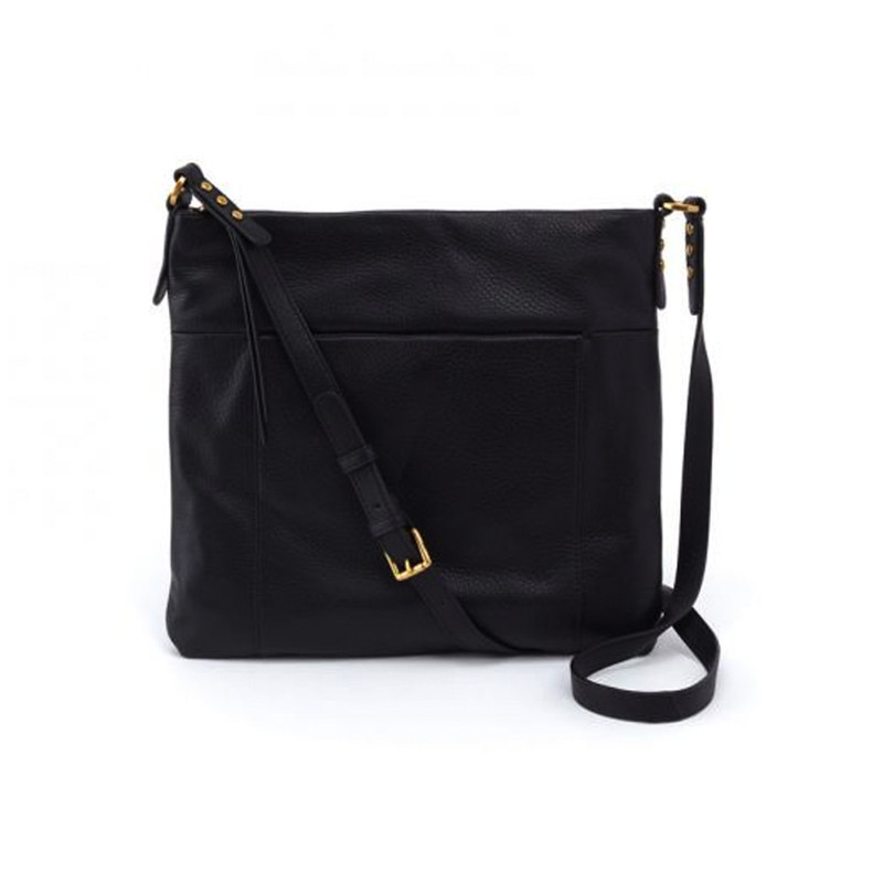 Hobo Forest Crossbody Handbag in Black Color