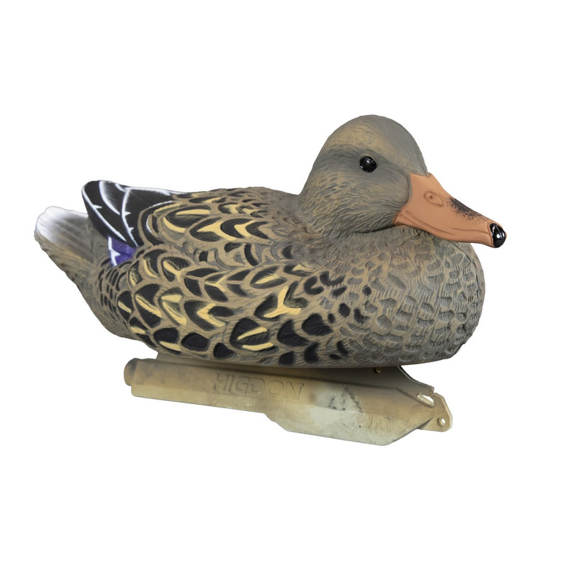 Higdon Standard Foam Filled Mallard Duck Decoys 6 Pack