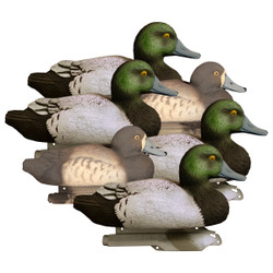 Higdon Standard Foam Filled Blue Bill Duck Decoys - 6 Pack