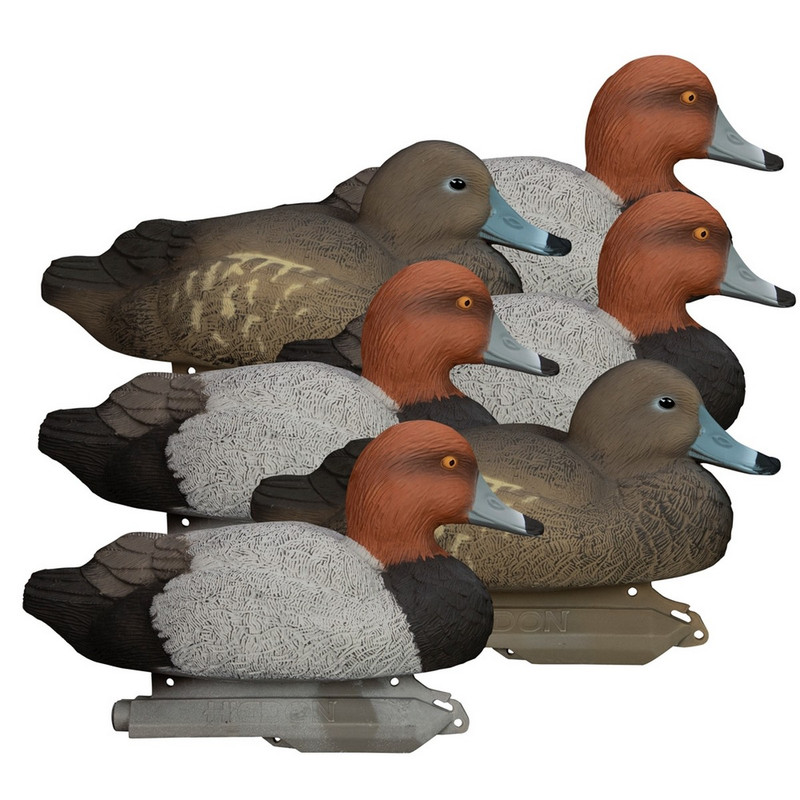 Higdon Standard Foam Filled Redhead Duck Decoys 6 Pack