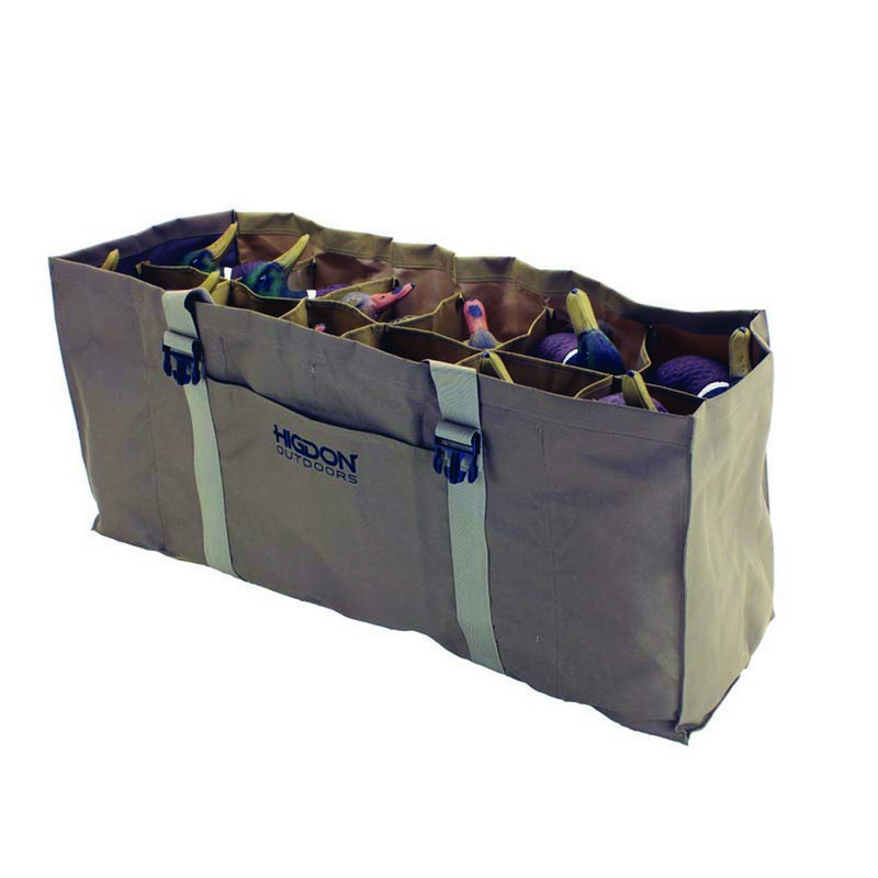 Higdon 12 Slot Duck Decoy Bag