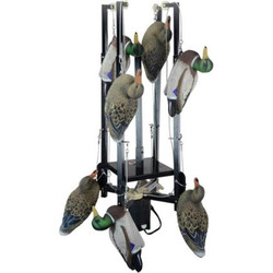 Higdon Duck Dunker Base Unit with 8 Decoys and Hard Wired Timber