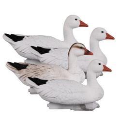 Higdon Full Size Snow Goose Floater Decoys - 4 Pack