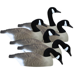 Higdon Full Size Canada Half Shell Goose Decoys - 6 Pack