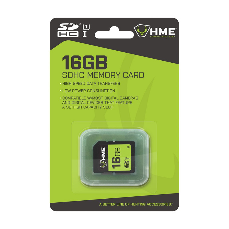 HME 16GB SD Single Pack