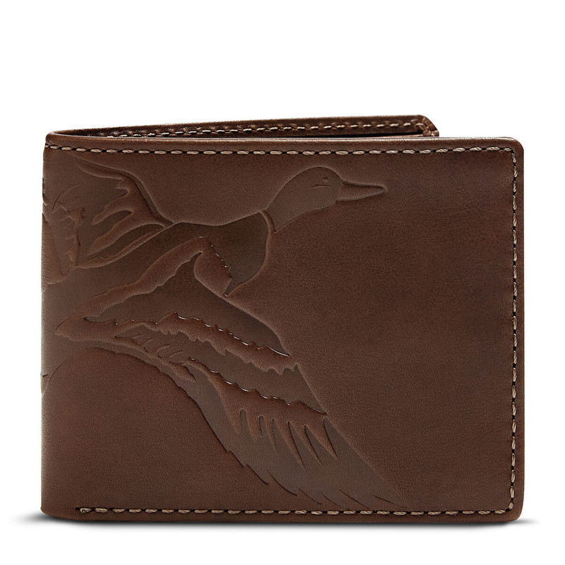 House Of Jack Duck Bifold Dark Brown in Dark Brown