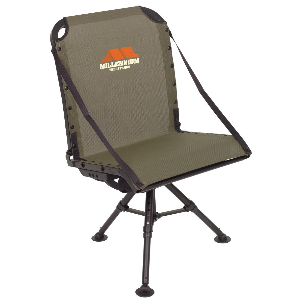 Pleasant Hunting Solutions Millennium Ground Blind Chair Machost Co Dining Chair Design Ideas Machostcouk