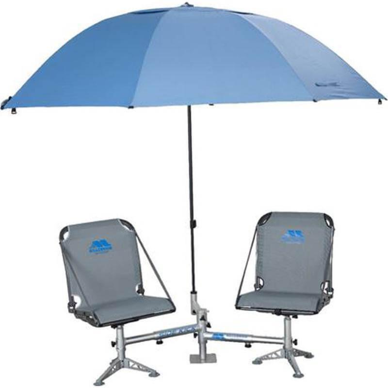 Millennium marine shade tree fishing umbrella holder for Boat umbrellas fishing