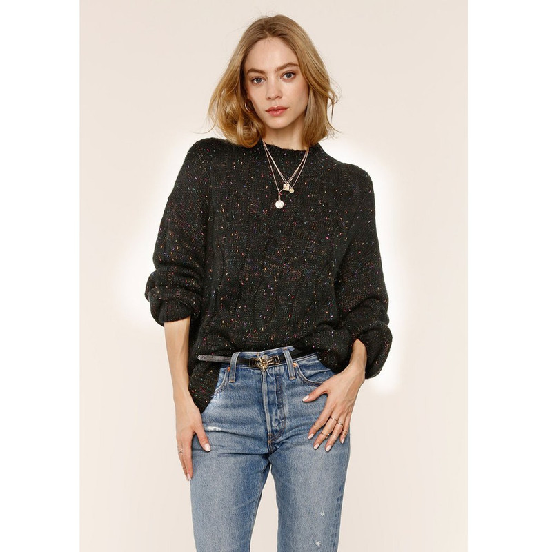 Heartloom Roscoe Sweater in Black Color
