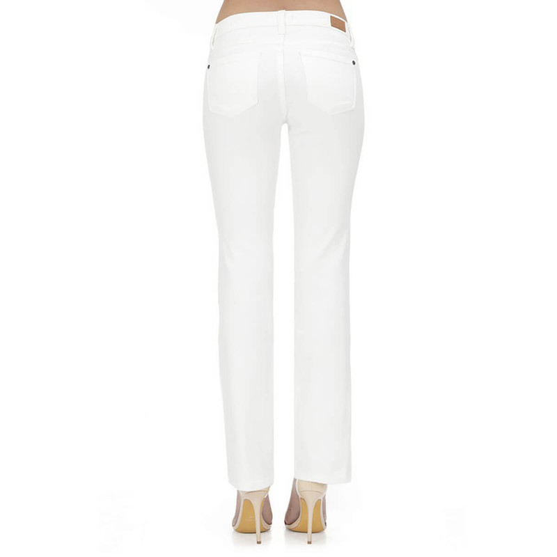 Judy Blue Bootcut Jeans in White Color