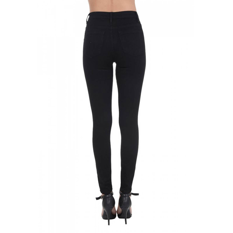 Judy Blue Mid-Rise Skinny - Women's in Black Color