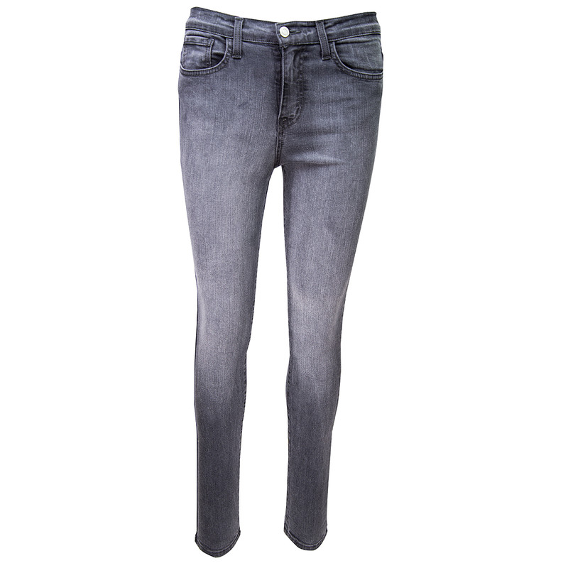 Judy Blue Handsand Skinny Jeans in Grey Color