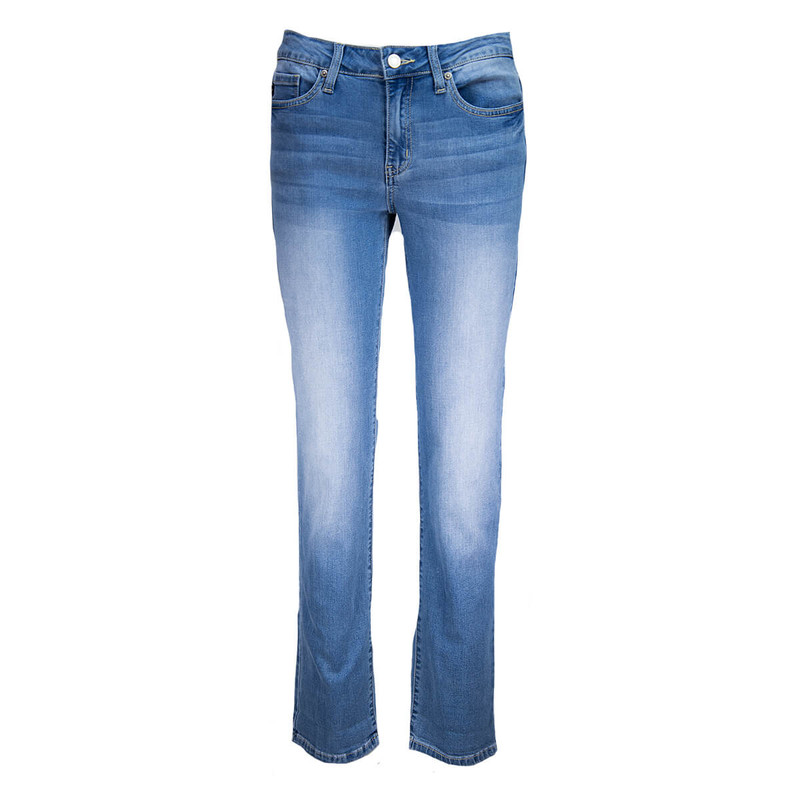 Kancan Looking Straight Jean in Medium Denim Color