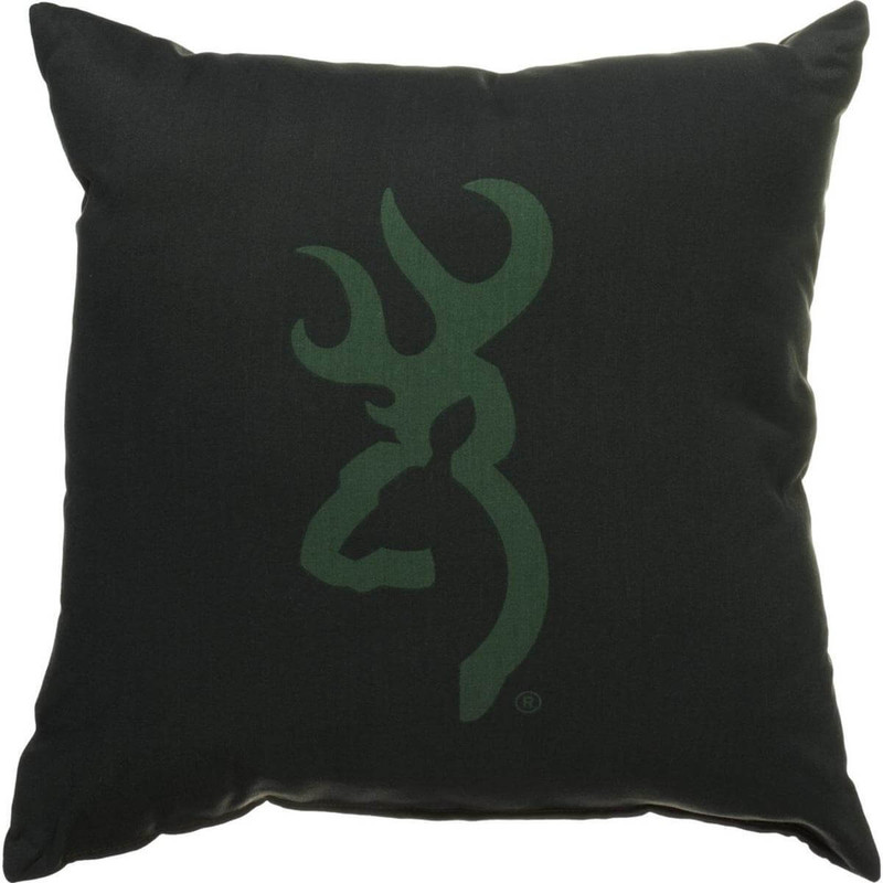 Throw Pillow Website : Kimlor Buckmark Logo Throw Pillow