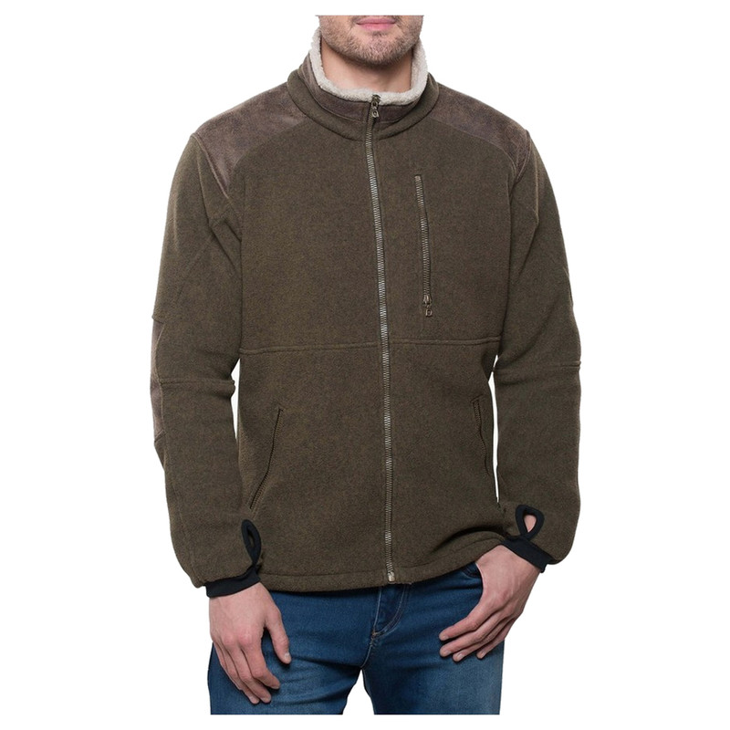 Kuhl Alpenwurx Fleece Jacket in Olive Color