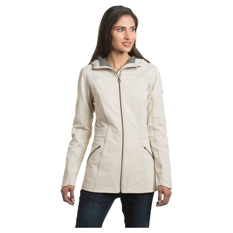 Kuhl Women's Klash Trench in Natural Color
