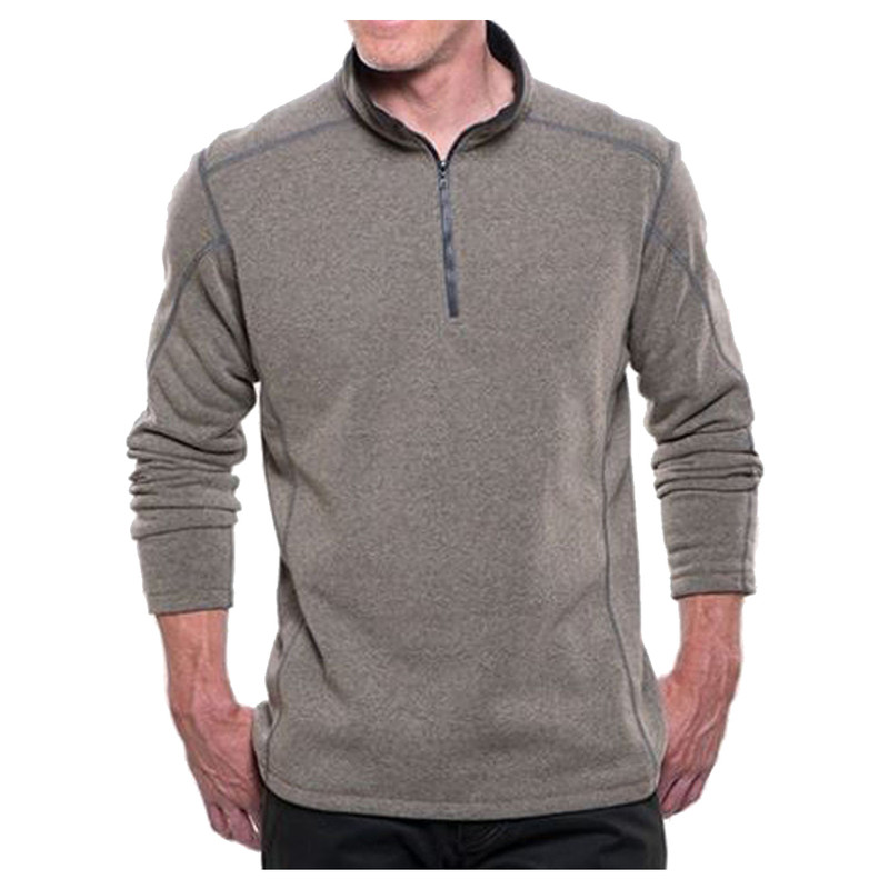 Kuhl Revel 1/4 Zip Pullover in Oatmeal Color