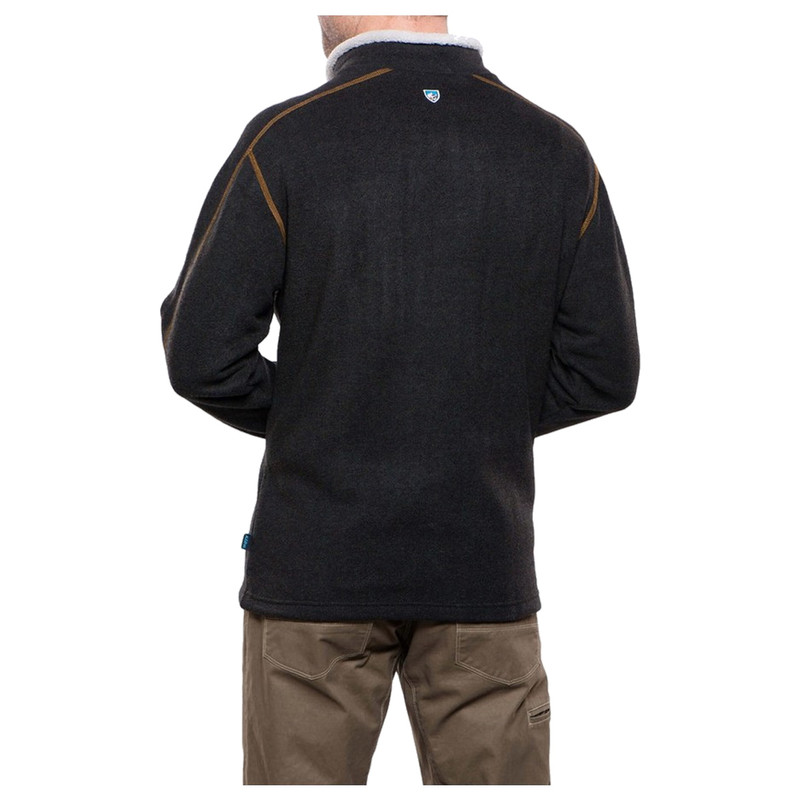 Kuhl Europa 1/4 Zip Sweater in Charcoal Color