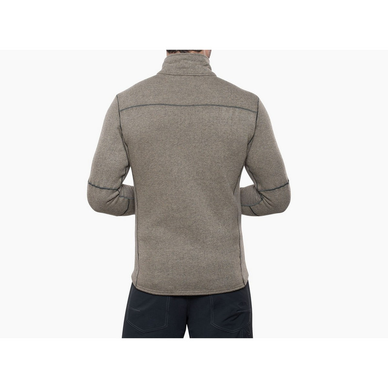 Kuhl Men's Interceptr 1/4 Zip in Oatmeal Color