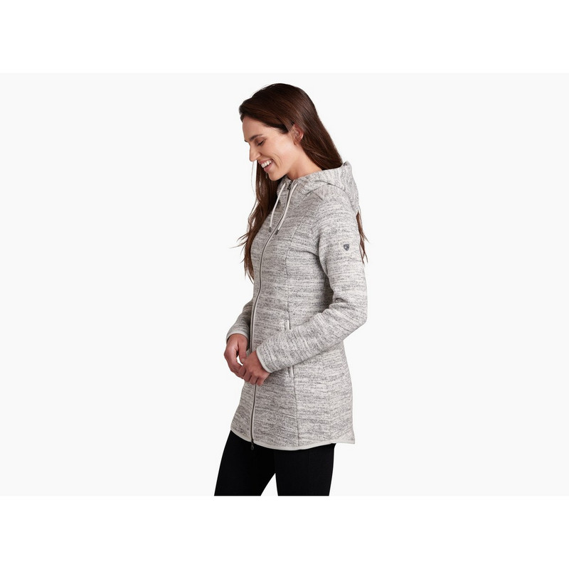 Kuhl Women's Ascendyr Long Jacket in Ash Color