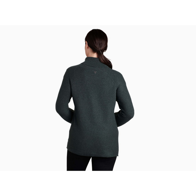 Kuhl Women's Solace Sweater in Sea Pine Color