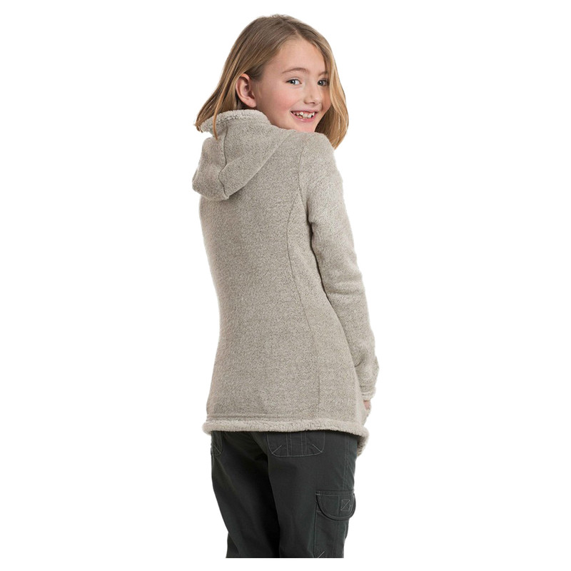 Kuhl Girl's Apres Hoody in Natural Color