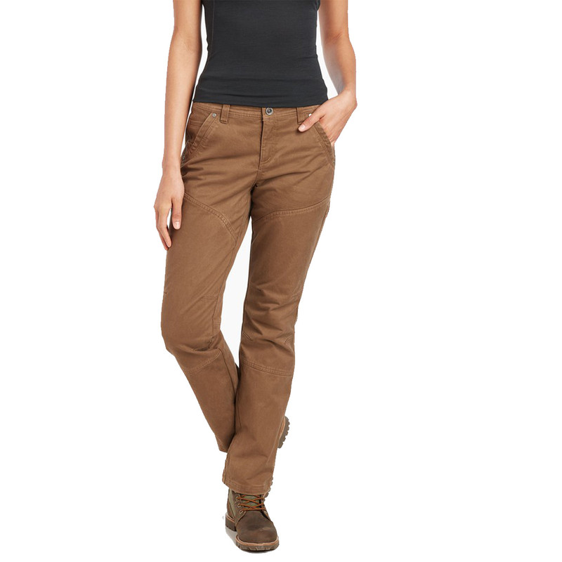 Kuhl Women's Rydr Pant in Dark Khaki Color