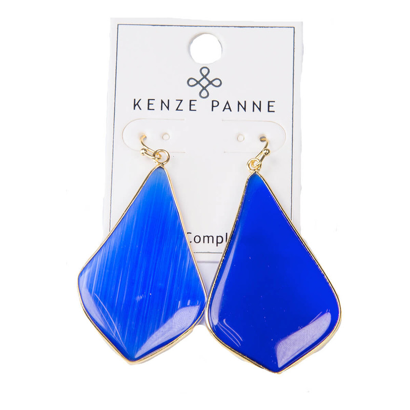 Kenze Panne Long Arrow Earrings