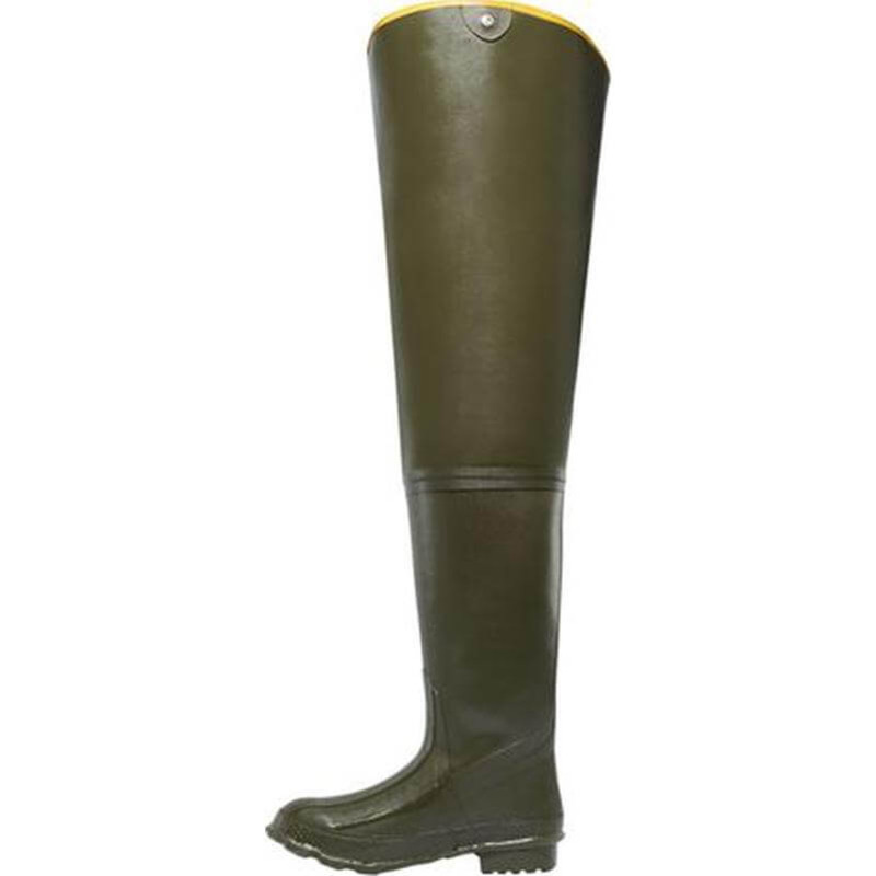 Lacrosse Marsh 32 Inch Hip Boot in Olive Drab Green Color