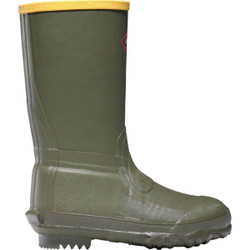 Lacrosse Youth Lil Burly 9 Inch Boots - OD Green