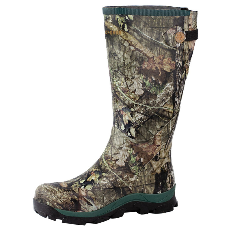 LaCrosse Womens Switchgrass 15 Inch Non-Insulated Rubber Boots in Mossy Oak Break Up Country Color