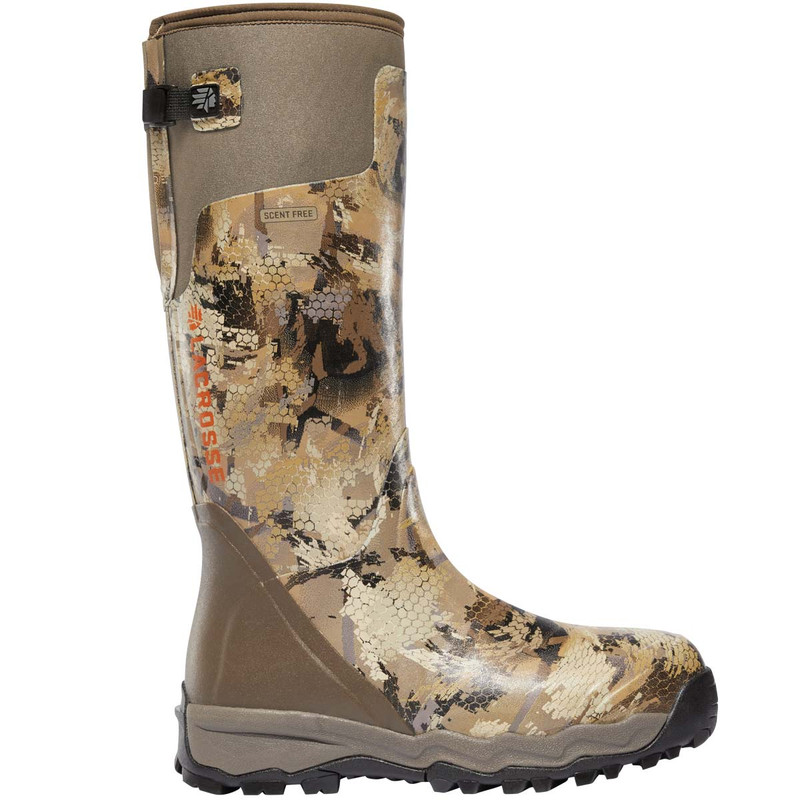 "LaCrosse Alph Burly Pro Non-Insulated Rubber Boots - 18"" Waterfowl Marsh in Waterfowl Marsh Color"