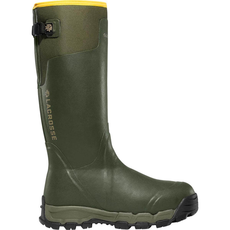 Lacrosse Alphaburly Pro 18 Inch Hunting Boot - 800G Forest Green