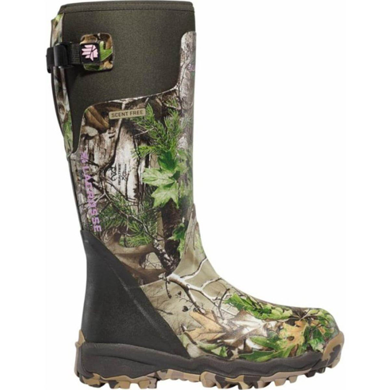 LaCrosse Women's Alphaburly Pro Non-Insulated Boots - Xtra Green in Realtree Xtra Green Color