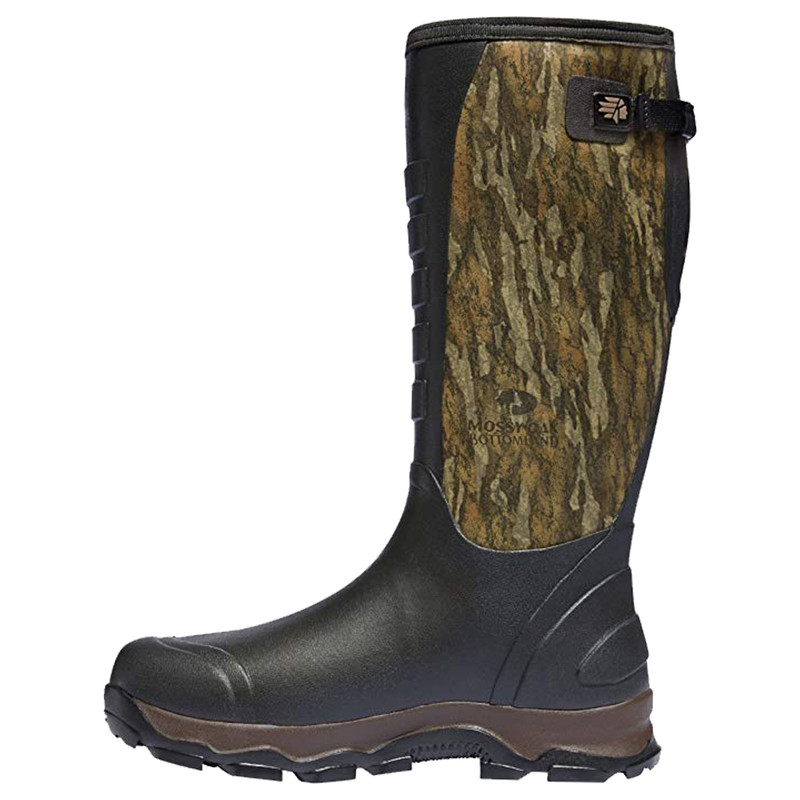LaCrosse 4X Alpha Hunting Boots - Mossy Oak Bottomland 7MM