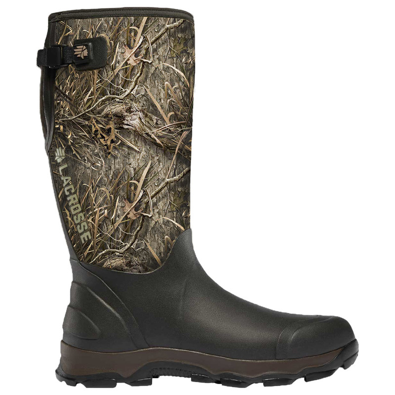 LaCrosse 4X Alpha 7MM Hunt Mossy Oak Grass Habitat Boot