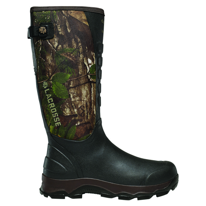 LaCrosse 4XAlpha Non-Insulated Snake Boot - Realtree Xtra Green