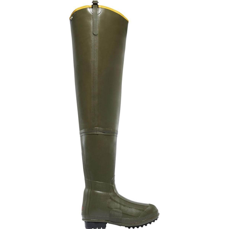 LaCrosse Big Chief Insulated Hip Boot 600G - OD Green in Olive Drab Green Color
