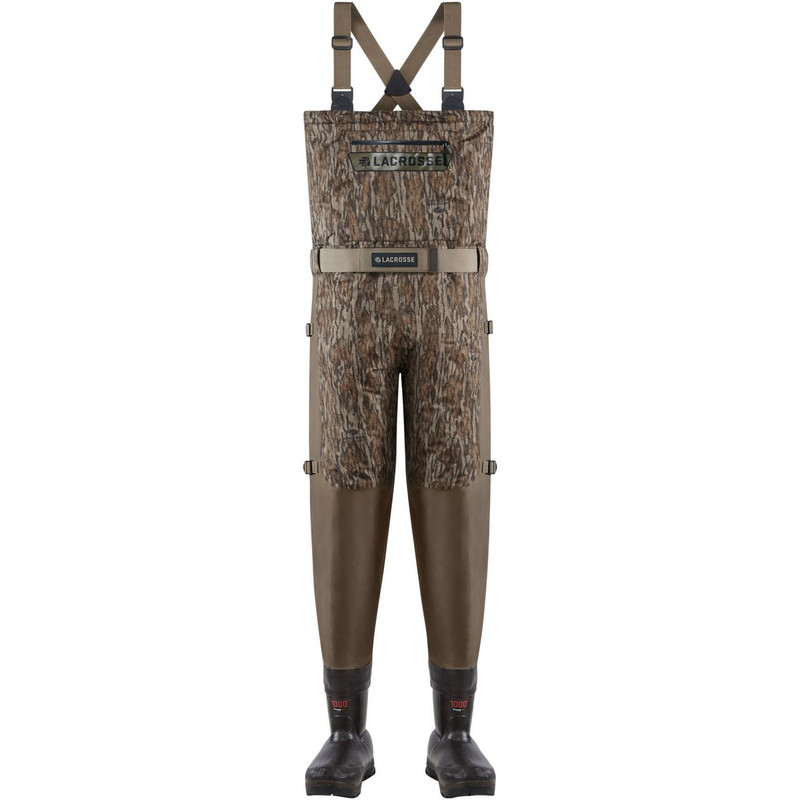 LaCrosse Alpha Swampfox Breathable Insulated Wader - Bottomland in Mossy Oak Bottomland Color