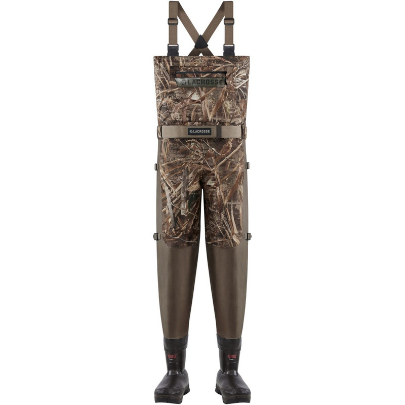 LaCrosse Alpha Swampfox Breathable Insulated Wader - Max5 in Realtree Max 5 Color