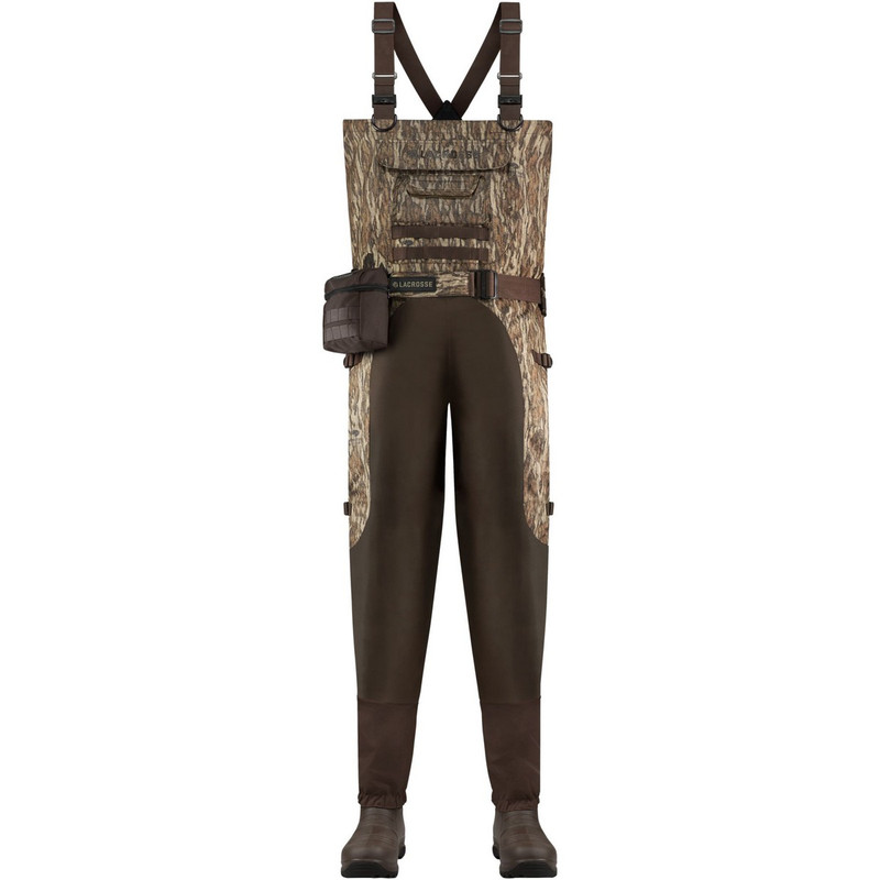 Lacrosse Aero Elite Insulated Breathable Wader 7MM - Mossy Oak Bottomland in Mossy Oak Bottomland Color