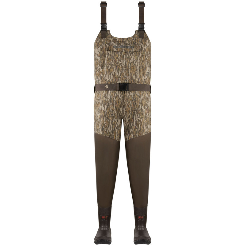 LaCrosse Wetlands Insulated Wader - 1600G in Mossy Oak Bottomland Color