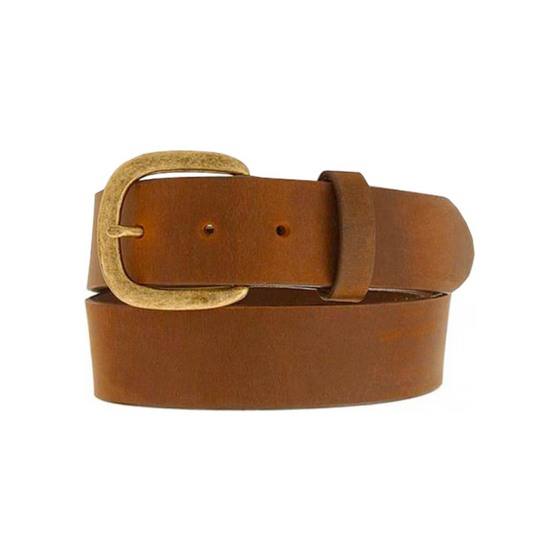 Leegin Justin Work Belt - 1 1/2 Inch in Bark Color